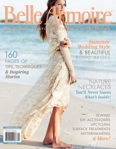 The summer issue of Belle Armoire features 160-pages of inspiration, from bridal fashion to ornate hair pieces to 70s-inspired maxi dresses.