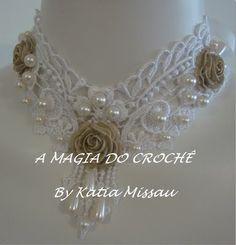 A MAGIA DO CROCHÊ: Colar Princesa