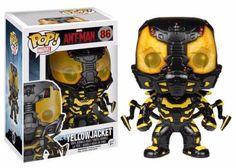 Funko POP! Marvel Ant-Man Yellow Jacket Vinyl Bobble-Head Figure 86