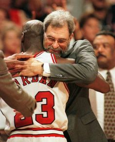 MJ and Phil hugging