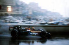Stefan Bellof driving for Tyrrell, Monaco 1984
