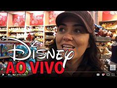 Quase AO VIVO direto de uma LOJA na DISNEY | #VlogTatiCelo - YouTube