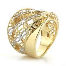 anillo de oro amarillo y blanco precio - Buscar con Google