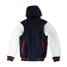 Jordan Brand – Hooded Varsity Jacket