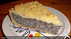 Poppy seed cake with curd cheese and crumble (recipe with picture) Chefkoch. Sweet Pumpkin Recipes, Sweet Recipes, Baking Recipes, Cake Recipes, Dessert Recipes, German Desserts, Delicious Desserts, Yummy Food, Cooking Cake