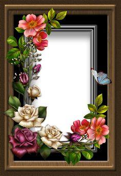 Birthday Photo Frame, Happy Birthday Frame, Birthday Frames, Happy Birthday Messages, Frame Border Design, Photo Frame Design, Flower Phone Wallpaper, Butterfly Wallpaper, Art Floral