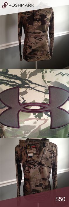 NWT UA Under Armour Hoodie Camo Size Small New with Tags Under Armour Storm Hoodie. Ridge Reaper Camo. Barren Series. Size Small. Under Armour Tops Sweatshirts & Hoodies
