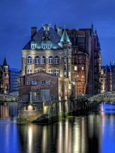 Hamburg, Germany. Why, Germany, must you have such large, gorgeous architecture?