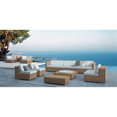 Dedon Lounge - hochwertige Outdoor Gartenmöbel von Dedon Outdoor Lounge, Outdoor Decor, Schmidt, Sofa Lounge, Modern Condo, Villa, Outdoor Furniture Sets, Backyard, Interior