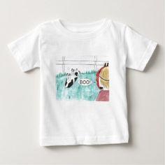 Fainting Goat Baby T-Shirt - humor funny fun humour humorous gift idea