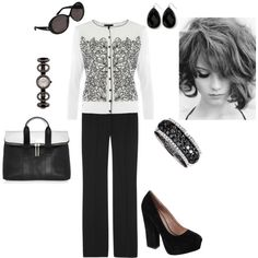 Black and White - Polyvore