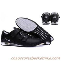 finest selection 70e8f 838e4 Hommes Nike Shox R3 Trois Boucle Noir Blanc Chaussure Basket Nike, Air  Original Jordans,