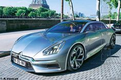 Citroen Concept, Concept Cars, Retro Cars, Vintage Cars, Carros Retro, Benz, Volkswagen, Futuristic Cars, Citroen Ds