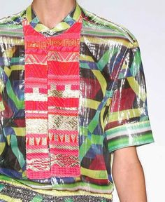 patternprints journal: PRINTS, PATTERNS AND SURFACES FROM NEW YORK FASHION WEEK (WOMAN COLLECTIONS SPRING/SUMMER 2015) / Custo Barcelona