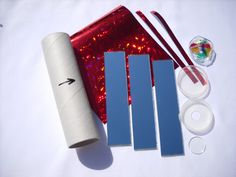 Kaleidoscope kit DIY kit Gifts Hand held Kaleidoscope Toys For kids Retro School project Stained glass Childrens toys 70s toys  KAL1 - pinned by pin4etsy.com