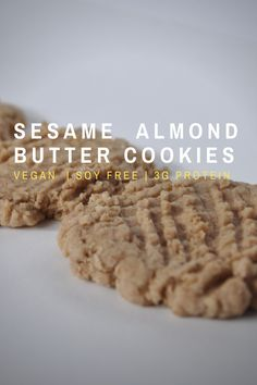 Delicious by its own right, this cookie is an alternative to the classic peanut butter cookie. It can be made nut free by eliminating the almond butter Peanut Free Peanut Butter, Classic Peanut Butter Cookies, Almond Butter Cookies, Quick Rolls, Food Allergies, Free Recipes, Egg, Alternative, Dairy