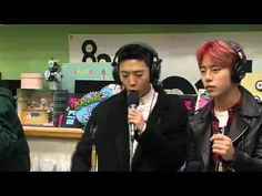 151126 KISS THE RADIO B.A.P - Young, Wild & Free LIVE by플로라