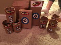 Nerf gun Targets home made