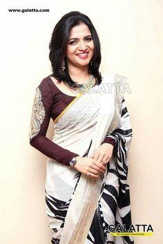 divyadarshini dd Indian Wedding Outfits, Indian Outfits, Indian Clothes, Beautiful Blouses, Beautiful Saree, Designer Blouse Patterns, Blouse Designs, Indian Beauty Saree, Indian Sarees
