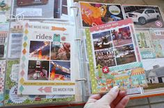 from my blog...Mini book inside your Project Life album. Perfect for holidays or vacations.