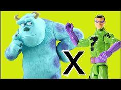 Sulley Monstros SA / Monsters, Inc Disney Pixar X Charada Riddler DC Com...