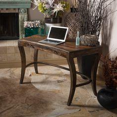 Christopher Knight Home Sheesham Highlight Wash One-Drawer Writing Desk