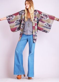 Incorporate haori jacket into laid back style