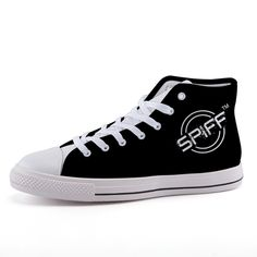 Full canvas double sided print with rounded toe construction. Lace-up closure for a snug fit. Metal eyelets for a classic look. Classic Looks, Snug Fit, Converse Chuck Taylor, High Tops, High Top Sneakers, Campaign, Lace Up, Medium, Canvas