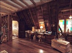 Charmed Halliwell Manor attic. Would LOVE an attic like this!