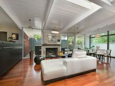 This spectacular 2,069 square foot home is located in Krisana Park, an urban neighborhood in Denver, Colorado. Originally constructed in 1955 by HB Wolff & Co, Elm …