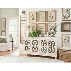 Birch Lane: Farmhouse & Traditional Furniture - Made to Last Contemporary Full Length Mirrors, Modern Contemporary, Classic Furniture, Home Furniture, Sideboard Decor, Entryway Decor, Foyer, Entryway Console, Console Tables