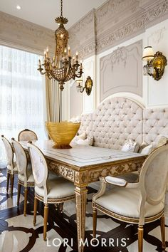 French Style Dining Room Elegant Dining Room, Classic Dining Room, Luxury  Interior, Interior