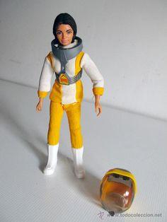 Madelman original. Ref. 902. Investigadora espacial.