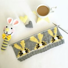 Baby bunny knit hat 🐰