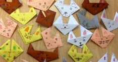 Happy Spring Break from the Art Room! Students in Ms Estep's class loved making origami rabbits to celebrate the spring seaso...