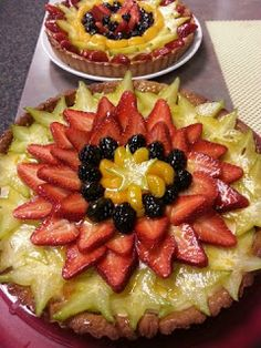 Clean Chef Jacqui: Gluten Free Dairy Free Fresh Fruit Tart