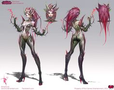 Zyra Official Concept Art by *Zeronis on deviantART