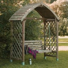 Blooma Barmouth Wooden Swing Seat - Home Delivered with Assembly, 5397007111729