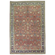 19th Century Antique Persian Tabriz 1