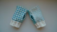 Zoom Loom Fingerless Handwarmers