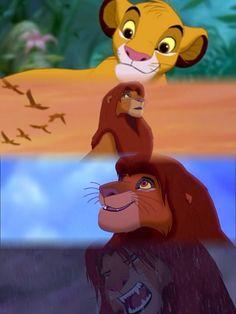 Simba 💖🙉🙈🙊😱😉 Lion King Series, Lion King 3, The Lion King 1994, Lion King Fan Art, Disney Lion King, Bambi Disney, Disney Girls, Disney Cartoons, Disney Pixar