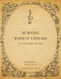30 free singing warm up exercises for classical singers and choirs. We use some of these at rehearsals. Vocal Lessons, Singing Lessons, Singing Tips, Music Lessons, Learn Singing, Singing Quotes, Piano Lessons, Singing Exercises, Vocal Exercises