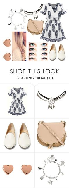 """Clara Little Outfit 7"" by some-harry-potter-freak on Polyvore featuring Wet Seal, Charlotte Olympia, Chloé and Ted Baker"