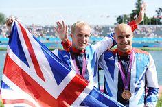 Team GB Medals 2012   52. Liam Heath and Jon Scofield - BRONZE   (Canoe Sprint: Men's Kayak Double (K2) 200m)