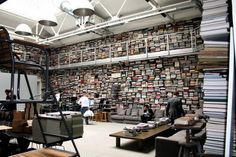 Karl Lagerfeld's library