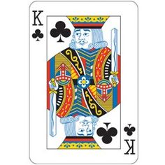 Casino Party, Casino Parties, Card Night King Card Cutouts