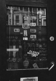 Robert Brownjohn: Photographs at Street Level:  - V own and show some of his photographs of London.