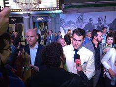 """Agora é a vez do Superman! Henry Cavill & @adorocinema na pré-estreia carioca de """"O Agente da U.N.C.L.E."""""""