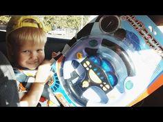 Видео обзор Музыкальный детский игровой руль Musical childrens play whee...