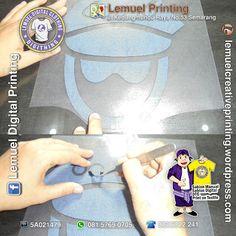 Custom Jasa Sablon Digital Cad Cut Siap Heat Press Berkualitas DIGITHING Heat Press, Digital